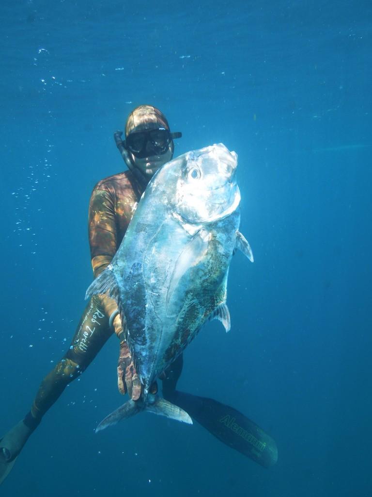 spearfishing jack